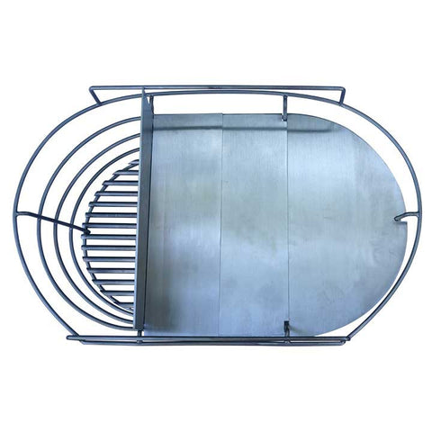 "32"" BB ~ Charcoal Basket Splitter/Reducer"