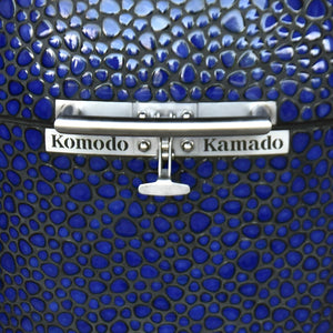 "21"" Supreme, Cobalt Blue Pebble SPY060Q (ready stock CA) - KomodoKamado"