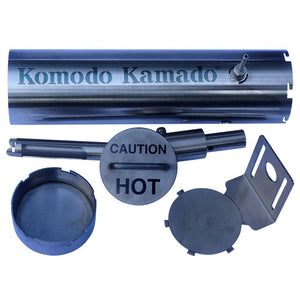 New KK Hot/Cold Smoke Generator CURVE ~ BONUS-Airpump - KomodoKamado