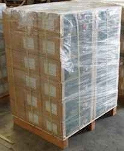 Coconut Shell Charcoal ~ 30 boxes - 600 lbs on palette- Contact KK for shipping