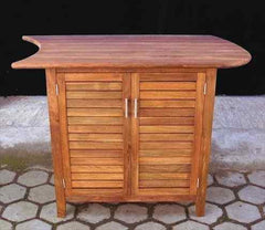 Teak, 2 door Side Cabinet ~ Right