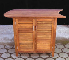 Teak, 2 door Side Cabinet ~ Left