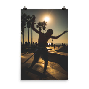 Los Angeles Skatepark Premium Poster (West Coast Edition)
