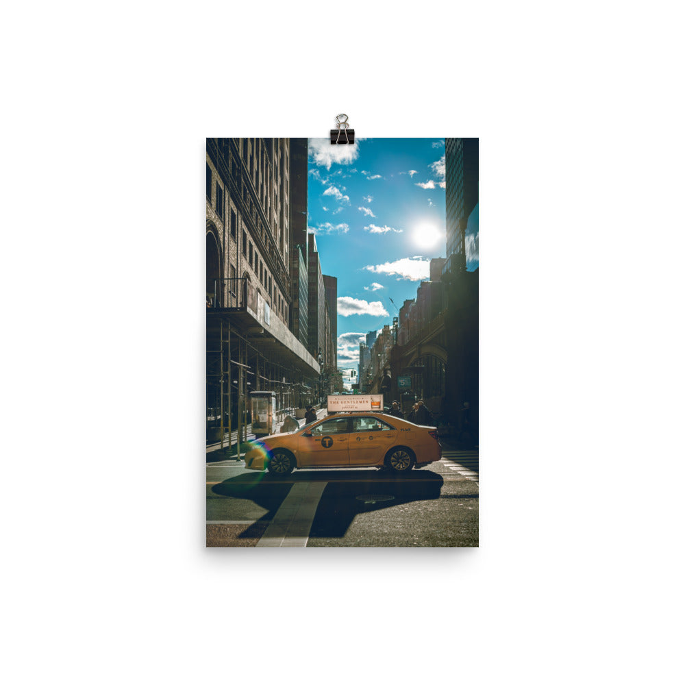 New York SunnyStreet Premium Poster (East Coast Edition)