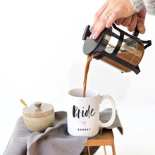 Load image into Gallery viewer, Bride Personalized Coffee Mug