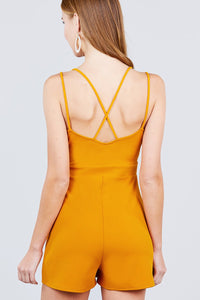 Criss Cross Romper
