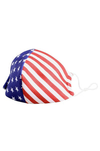 Made In Usa American Flag Fashionable 3d Reusable Face Mask