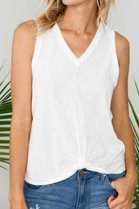 Solid Knit Tank Top
