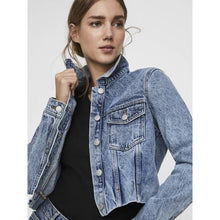 Load image into Gallery viewer, Vero Moda Mikky Cropped Denim Jacket
