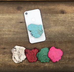 Natural Stone POP Phone Grips