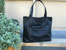 Load image into Gallery viewer, Borough Black Tote