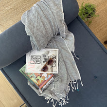 Load image into Gallery viewer, Hilana Upcycled Cotton Ultra Soft Throw