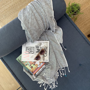 Hilana Upcycled Cotton Ultra Soft Throw