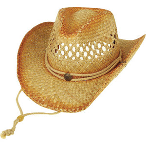 Outback Straw Cowboy Hat