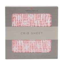 Load image into Gallery viewer, Primrose Pink Plaid Crib Sheet