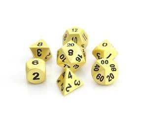 Die Hard Metal Dice - Polyhedral - Brilliant Gold