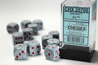 Chessex Dice - 16mm d6 - Speckled - Air CHX25700