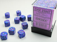 Chessex Dice - 12mm d6 - Speckled - Silver Tetra CHX25947