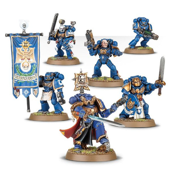 WH 40k Space Marines Company Command 48-51