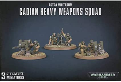Warhammer 40k Cadian Heavy Weapons Squad 47-19