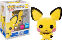 Pop! Pokemon Pichu Flocked #579 2020 Wonderous Convention Limited Edition Exclusive