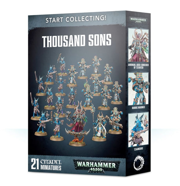 Warhammer 40K Start Collecting! Thousand Sons 70-55