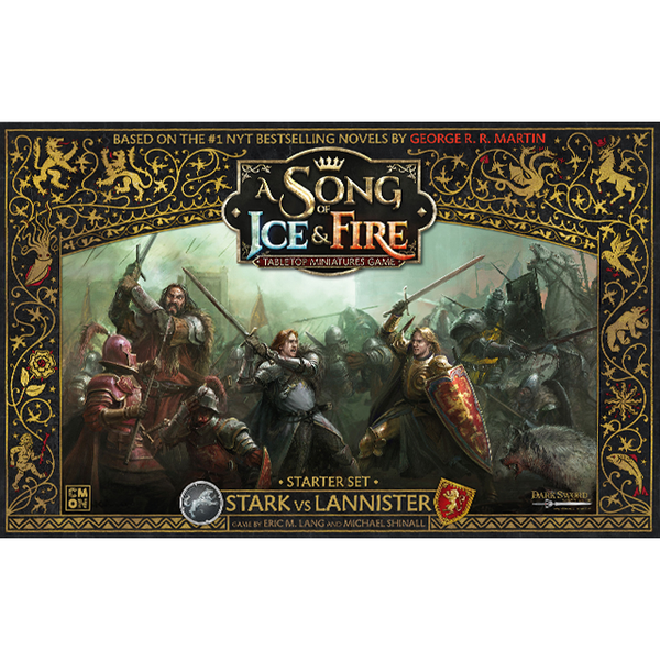 A Song of Ice & Fire - The Miniatures Game - Starter Set - Stark vs Lannister