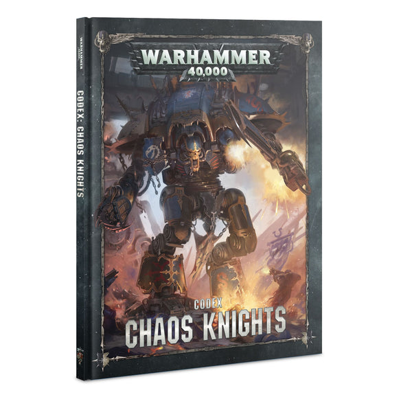 Warhammer 40K - Codex - Chaos Knights 43-18-60
