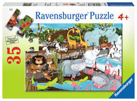 Ravensburger Puzzle Day at the Zoo 35pc 08778