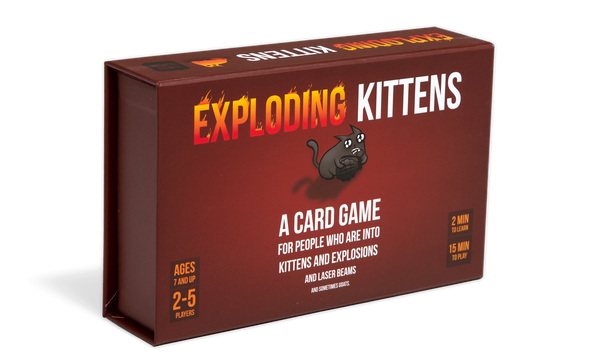 Exploding Kittens - First Edition