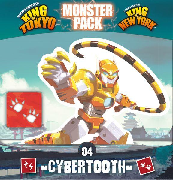 King of Tokyo - Monster Pack #4 Cybertooth Exp