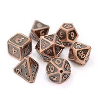 Die Hard Metal Dice - Polyhedral - Mythica Battleworn Copper