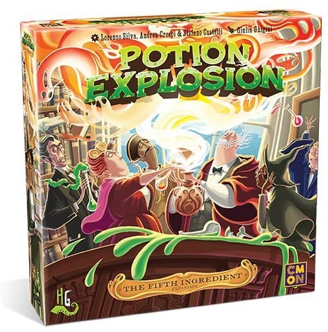 Potion Explosion: The Fifth Ingredient Ex[