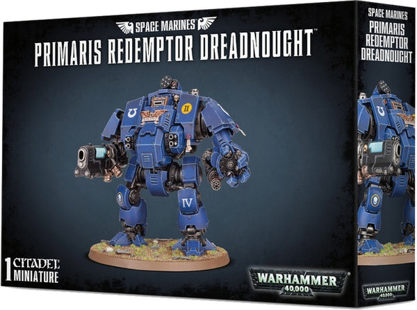 Warhammer 40K Space Marines Primaris Redemptor Dreadnought 48-77