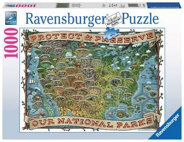 Ravensburger Puzzle Protect and Preserve USA 1000pc 19859