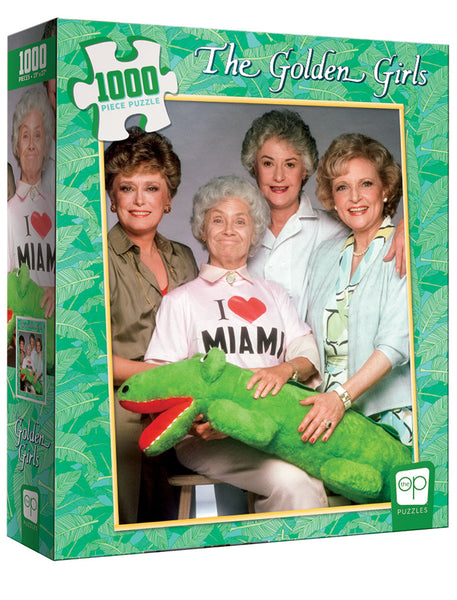 "TheOp Puzzle The Golden Girls ""I Heart Miami"" 1000pc"