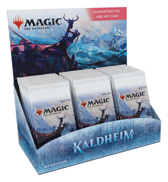 Magic The Gathering Box - Kaldheim Set Booster Box