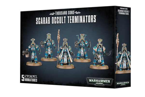 Warhammer 40K Thousand Sons Scarab Occult Terminators 43-36