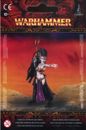 Warhammer Dark Elf Supreme Sorceress 85-34