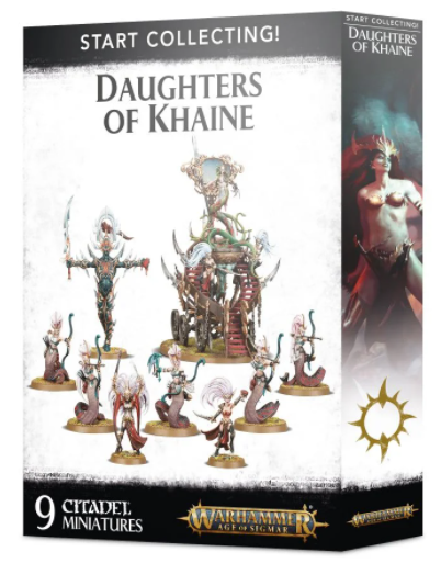 AOS Daughters of KhaineStarter Start Collecting! 70-61