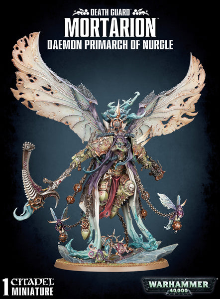 WH 40k Mortarion 43-49
