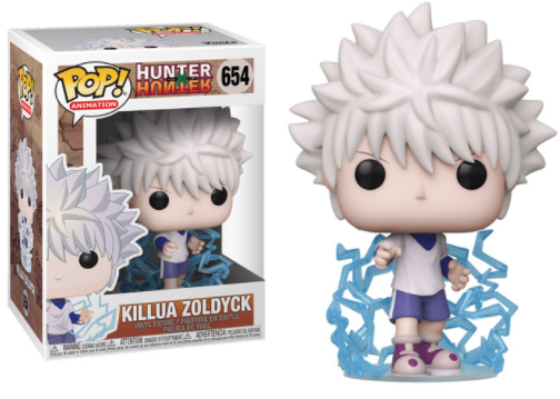 Pop! Hunter X Hunter Killua Zoldyck