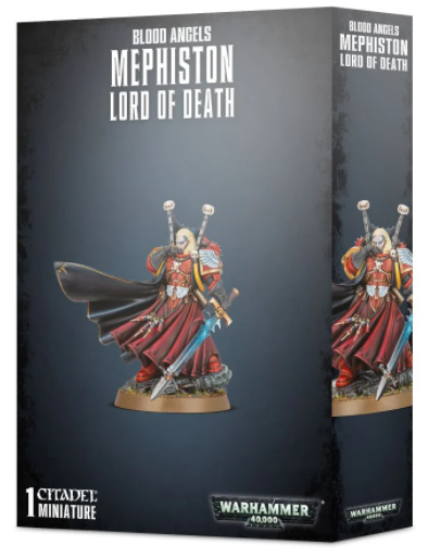 40K Mephiston Lord of Death 41-39