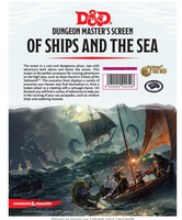 D&D5 DM Screen Of Ships and the Sea