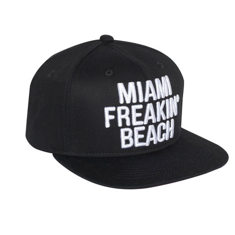 Miami Freakin' Beach Basballcap Hat - Snapback closure (Cotton)