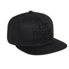 All-Black Los Fuckin' Angeles - Snapback Closure (Cotton)