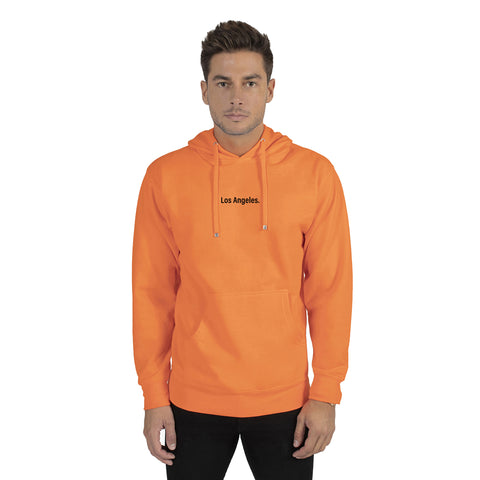 Neon Orange Los Angeles Hoodie