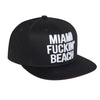 Miami Fuckin' Beach Baseballcap Hat - Snapback closure (Cotton)