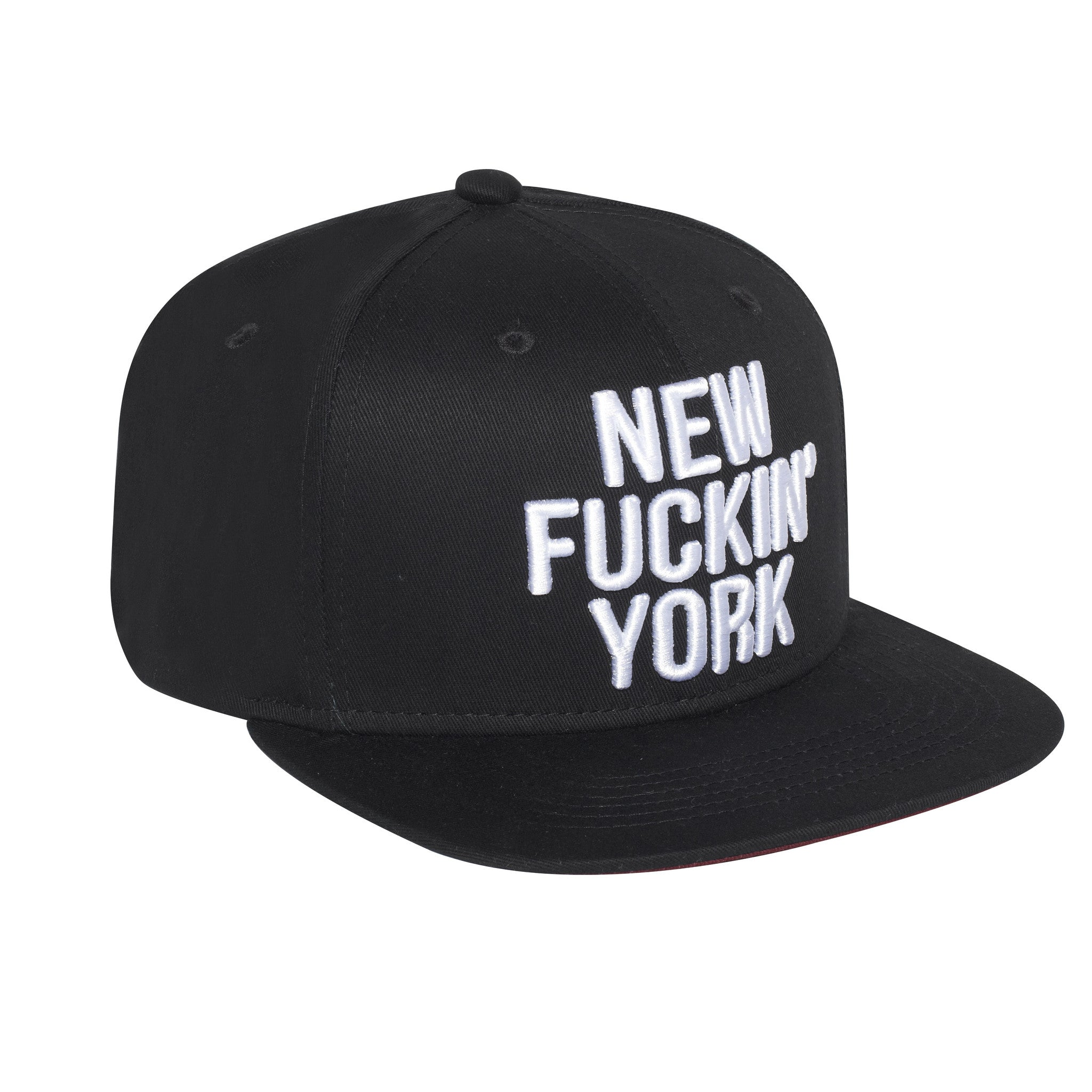 039c1a6d579 New Fuckin  York Baseballcap Hat - Snapback closure (Cotton)