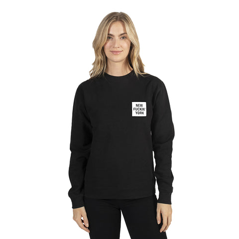 Black New Fuckin' York Sweatshirt